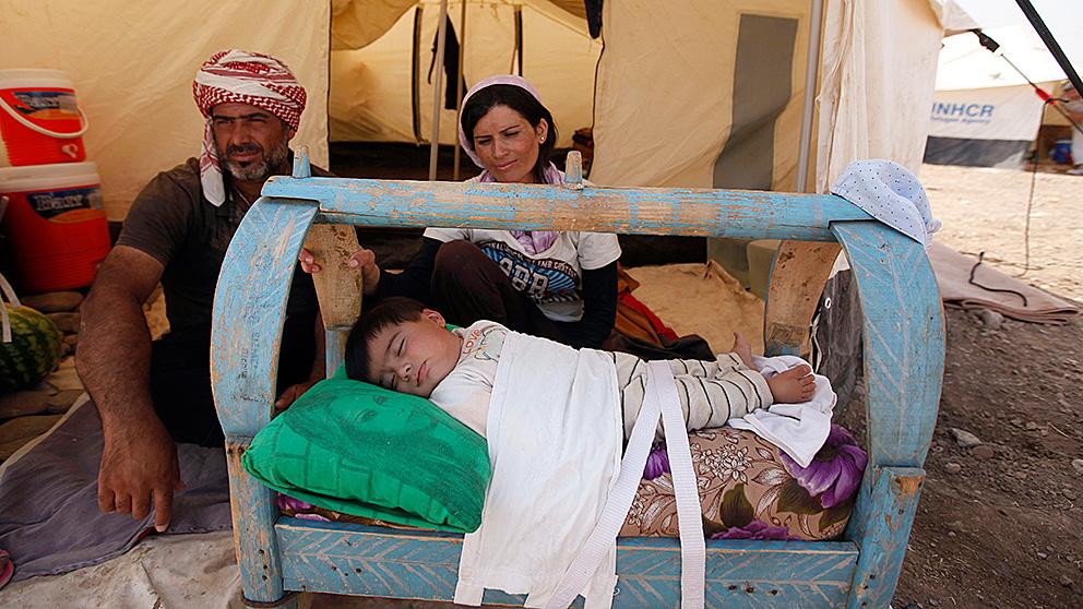 Flyktingar fran syrien far stanna