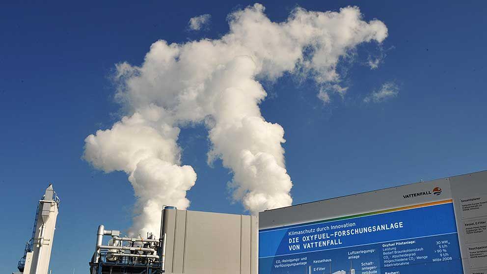 Ett av Vattenfalls kolkraftverk i Tyskland.