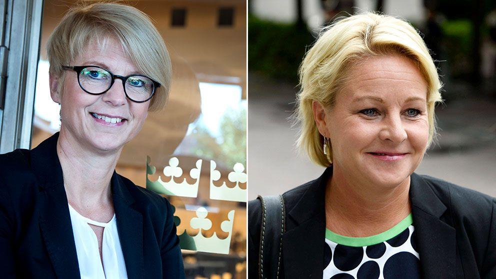 Elisabeth Svantesson och Hillevi Engström får nya jobb.