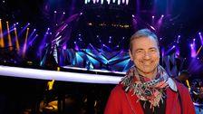 Christer Björkman inför Eurovision-finalen i Malmö 2013.