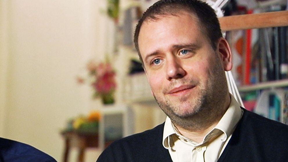 Formgivaren och författaren Eric Ericson.