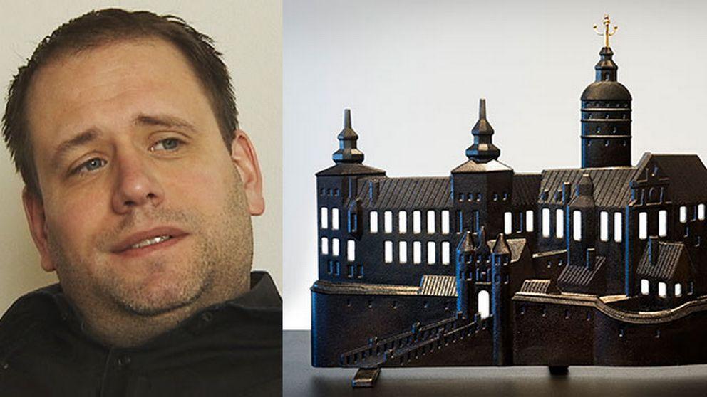 """Eric Ericson och """"Slottet brinner""""."""