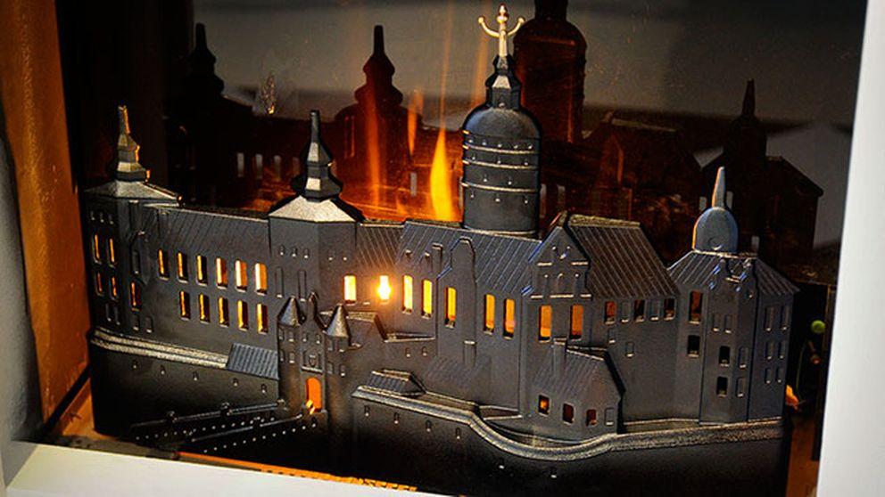 """Eldskyddet """"Slottet brinner""""."""