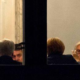 Förhandlingarna kan bli kärva. (Bilden från de förberedande samtalen om regeringssamarbete.)