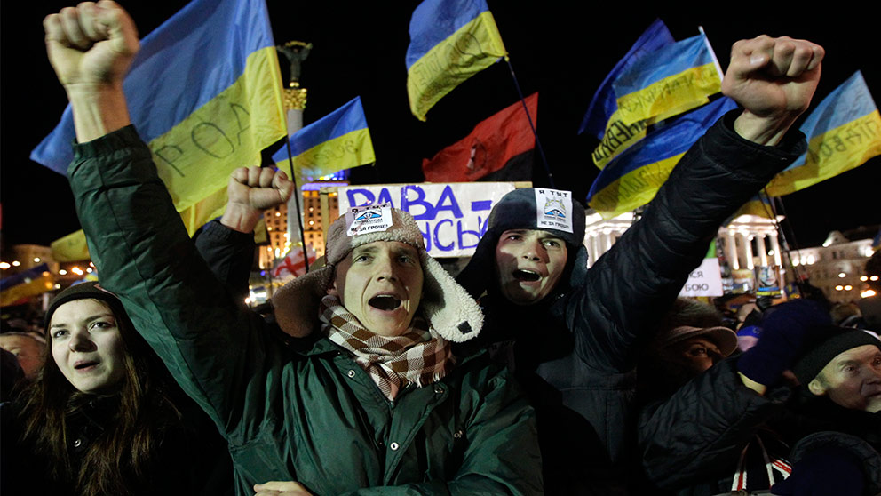 Varnar for nya protester i ukraina