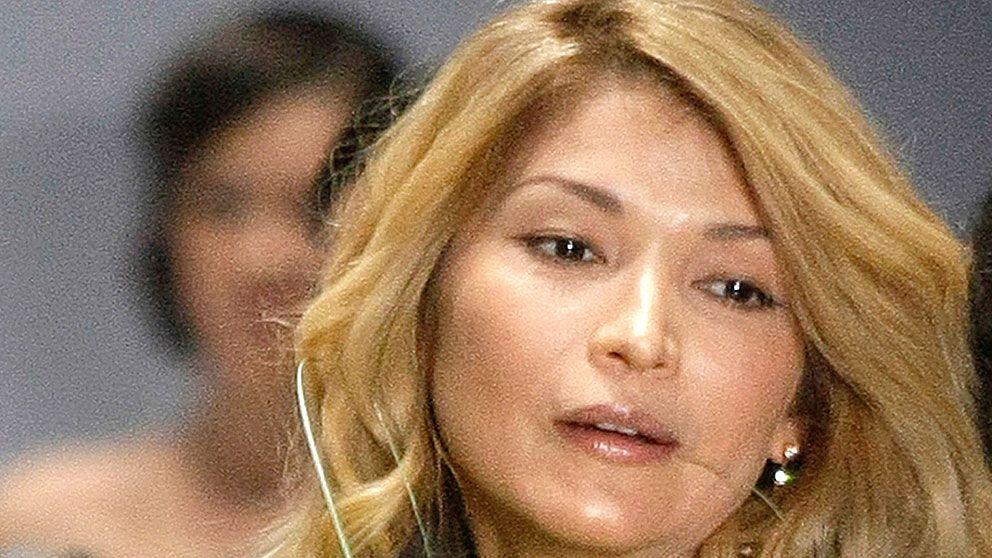 Gulnara Karimova, diktatordottern som har en central roll i Telia Sonera-skandalen i Uzbekistan.