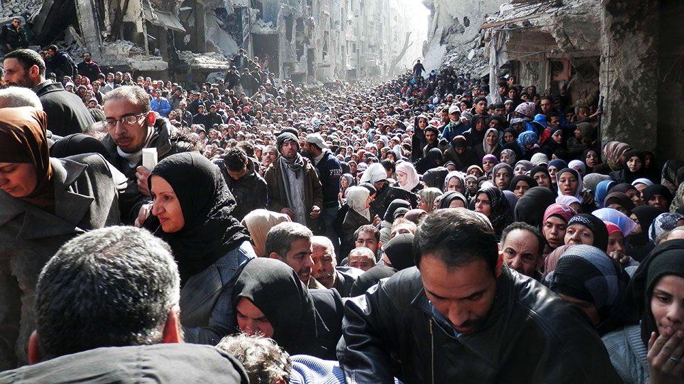 Dodlig bilbomb i syriska aleppo