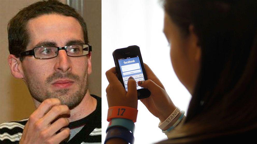 Nätforskaren Marcin de Kaminski kritiserar Friends bild av nätmobbningen.