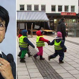 Lärarförbundets ordförande Eva-Lis Sirén kallar Hälsans förskola ett skräckexempel.