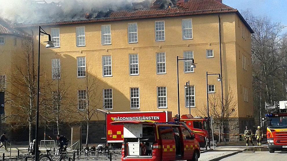 rök fusk stor nära Linköping