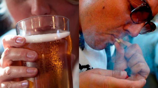 alkohol första graviditetsveckorna