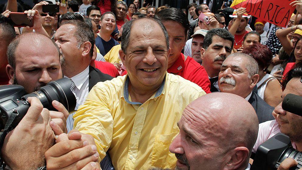 Solis nyvald president i costa rica