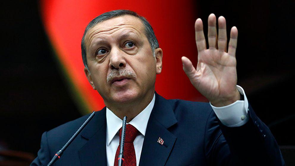 Turkiets premiärminister Recep Tayyip Erdogan