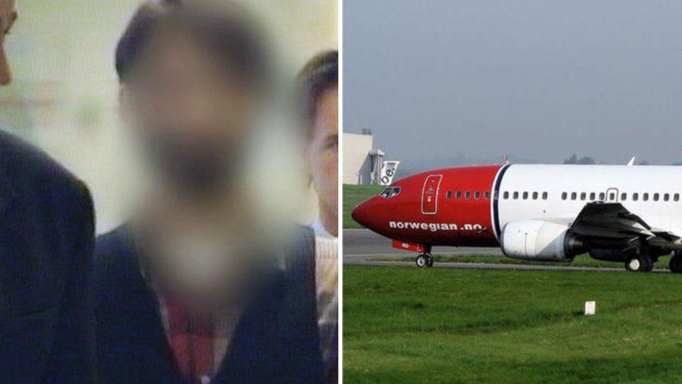 Norsk flygplats bombhotad