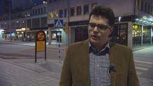 Fredrik Nykvist överfölls av vänsteraktivister för sitt politiska engagemang i Liberala partiet.