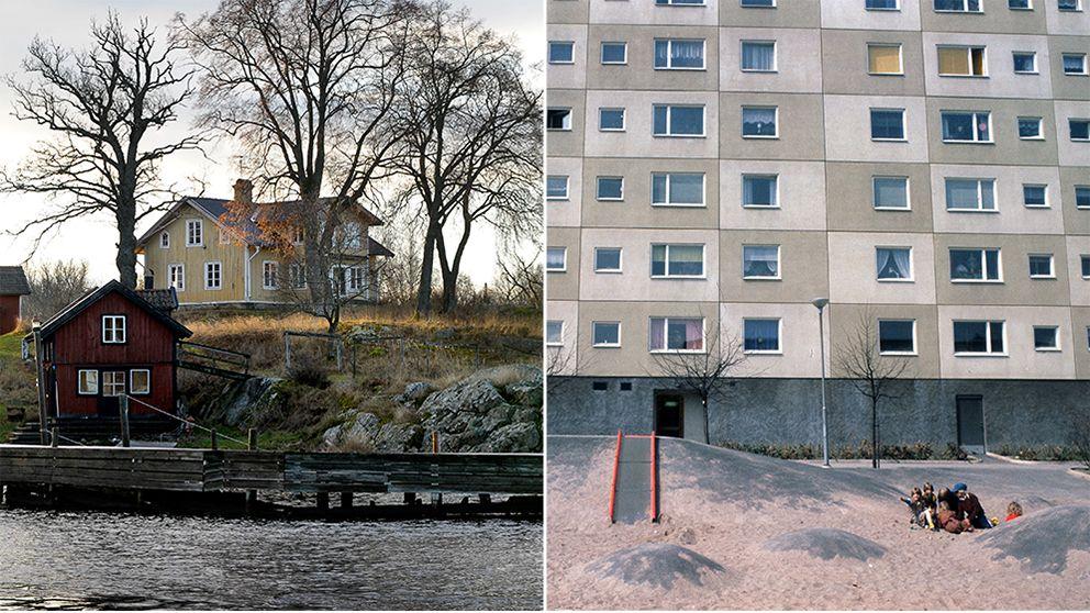 Svenskarna vill se mindre inkomstklyftor.