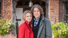Polly Creek (Sarah Alexander) & Jonathan Creek (Alan Davies)