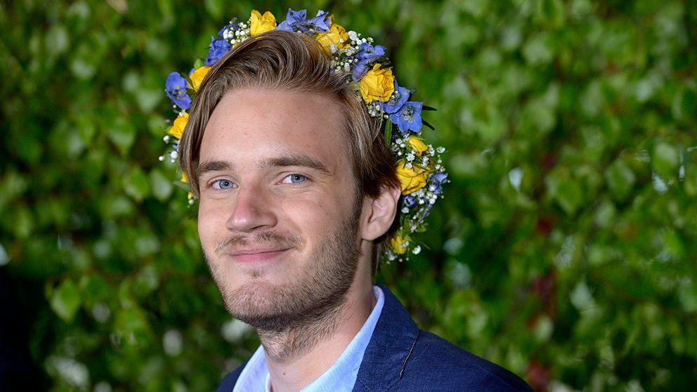 Internetstjärnan PewDiePie.