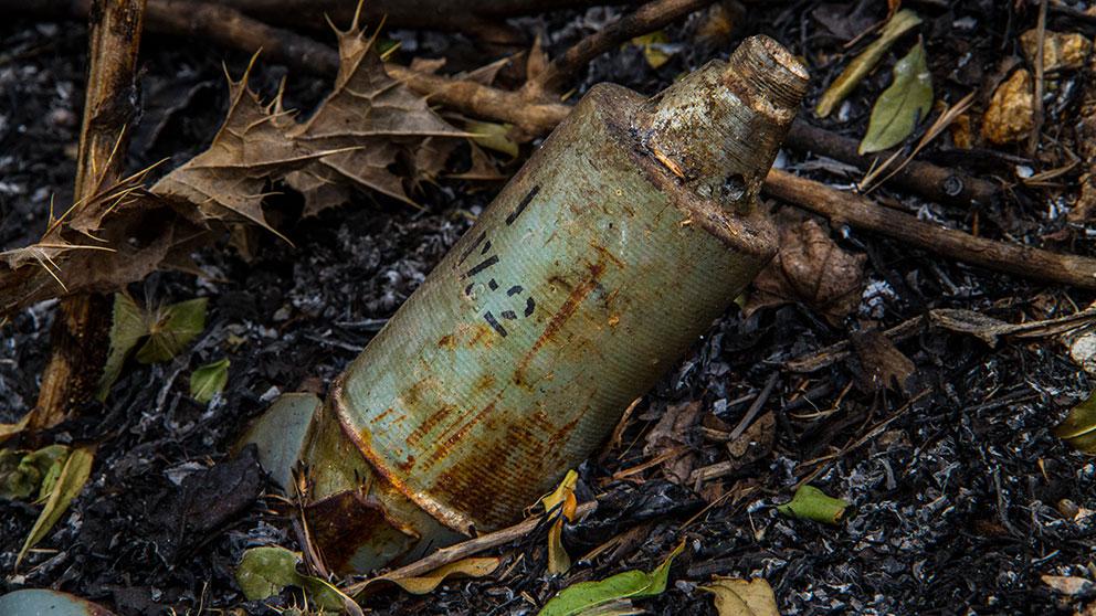 Hrw klusterbomber anvanda i ukraina