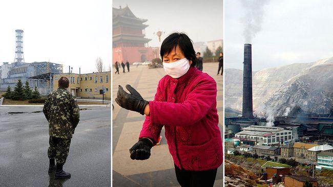 Världens mest förorenade städer