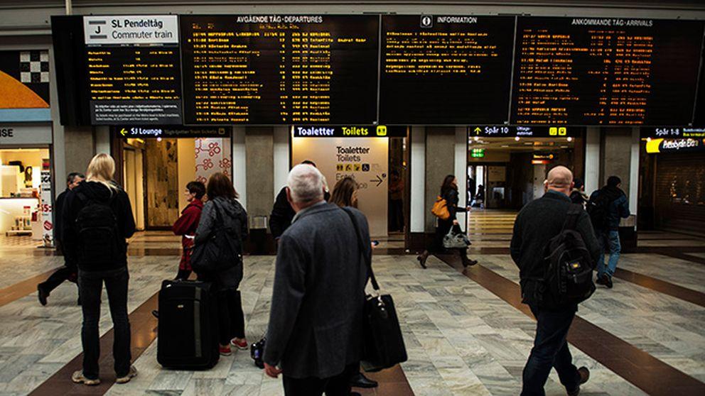 Bronsrobot tar snart plats på Stockholms centralstation.