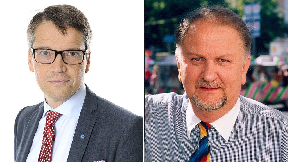 Göran Hägglund och Siewert Öholm.