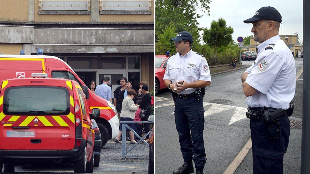 Larare knivdodad pa fransk skola