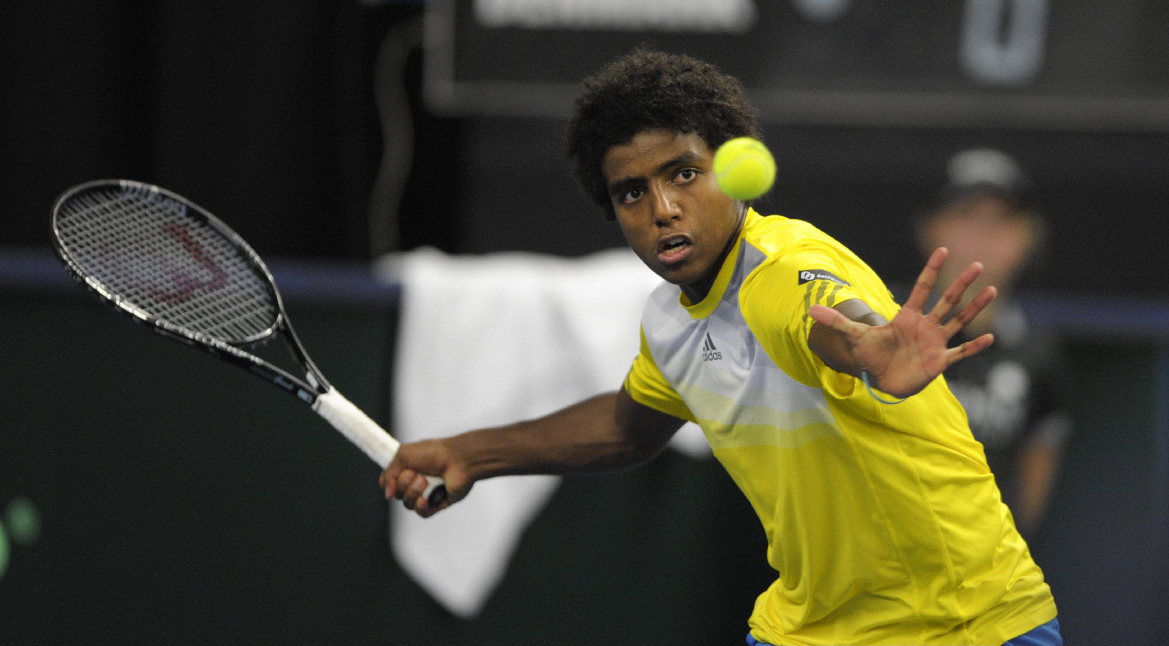 Han ar svensk tennis framtid
