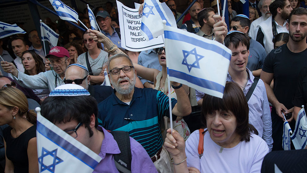 Raketanfall oroar israel