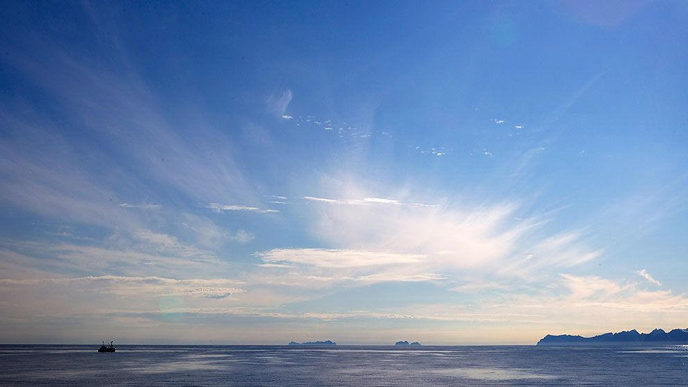 Vestfjorden i Lofoten