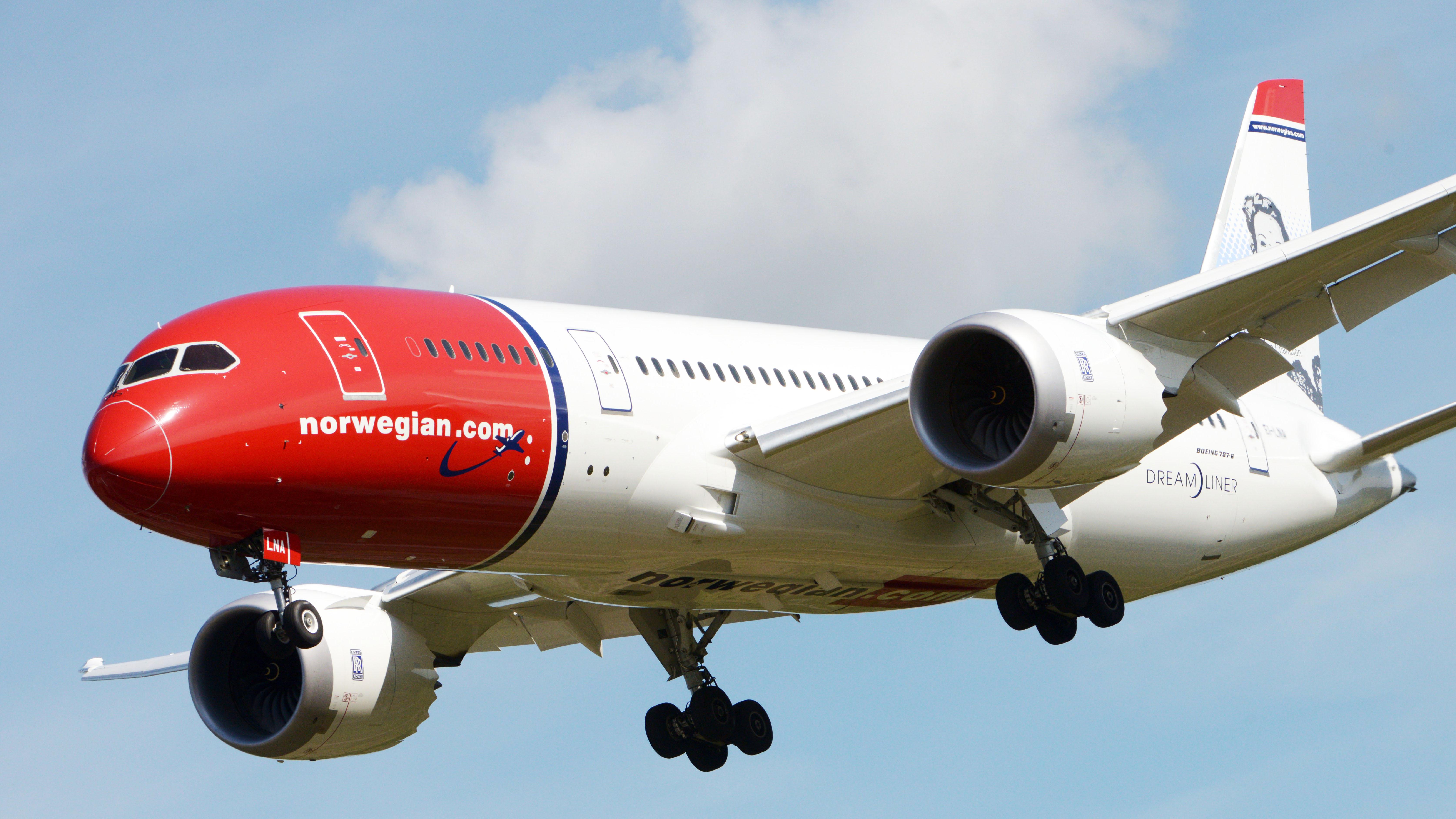 Norwegian tvingas ersatta dreamliner