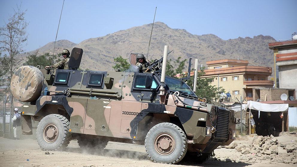 Natosoldat dodad i afghanistan