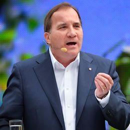 Socialdemokraternas Stefan Löfven.
