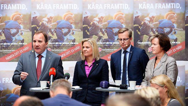 Löfven: Sverige håller på att gå sönder