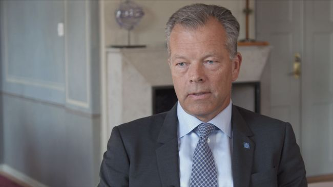 Peter Gudmundson, rektor KTH.