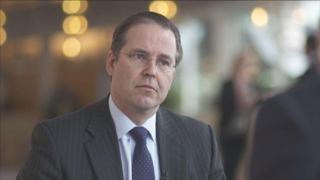 Anders Borg, finansminister.