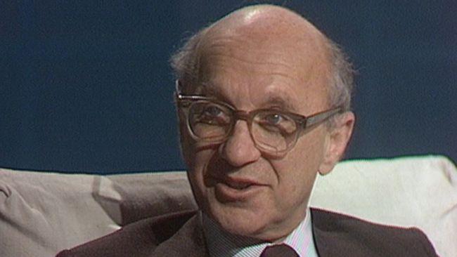 Milton Friedman intervjuad i SVT 1976.