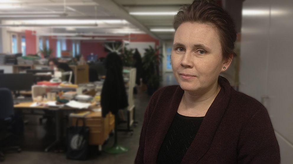 Ulrika Milles, litteraturkritiker.