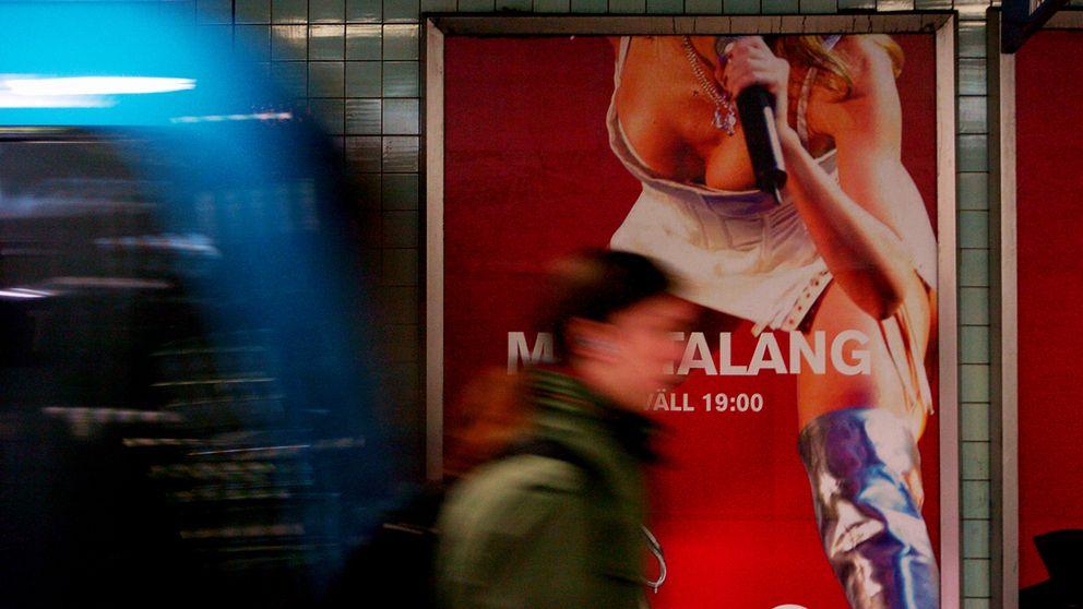 Sveriges kvinnolobby vill ha lag mot sexistisk reklam.