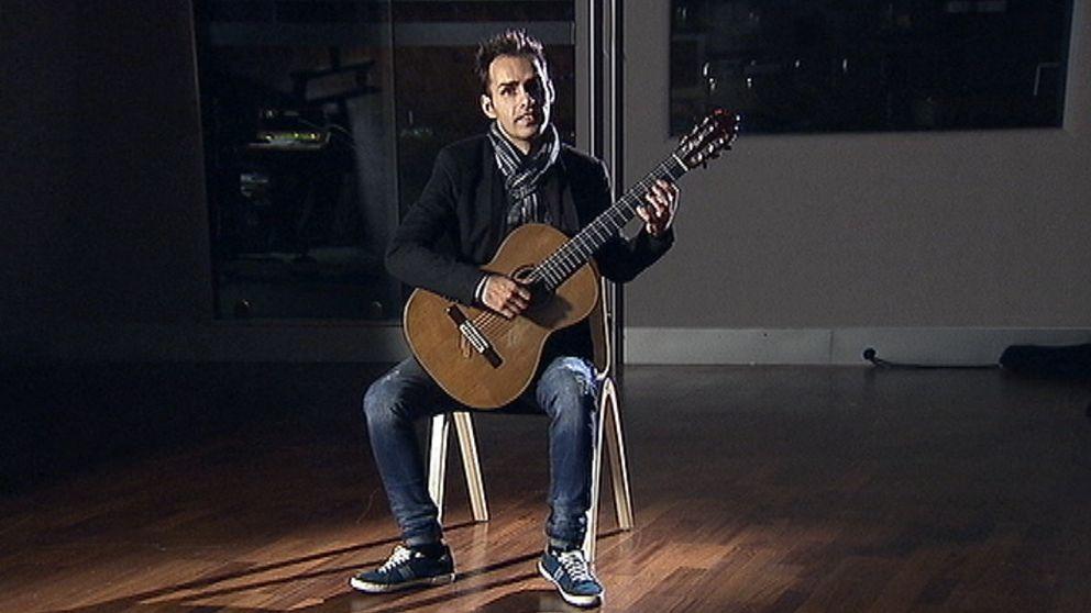 Gitarristen Catalin Vlad.