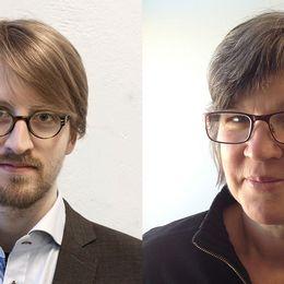 Johan Wingestad (KIF) och Katarina Jönsson Norling (KRO).
