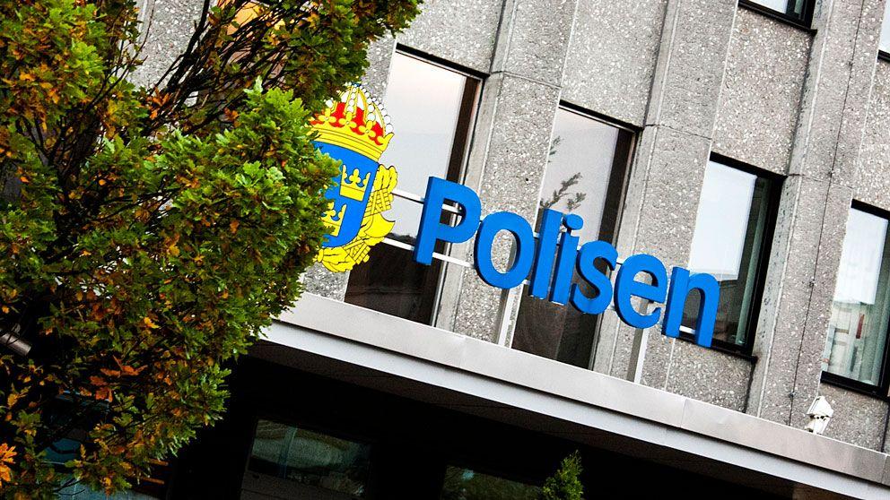 Entré polishuset Västerås