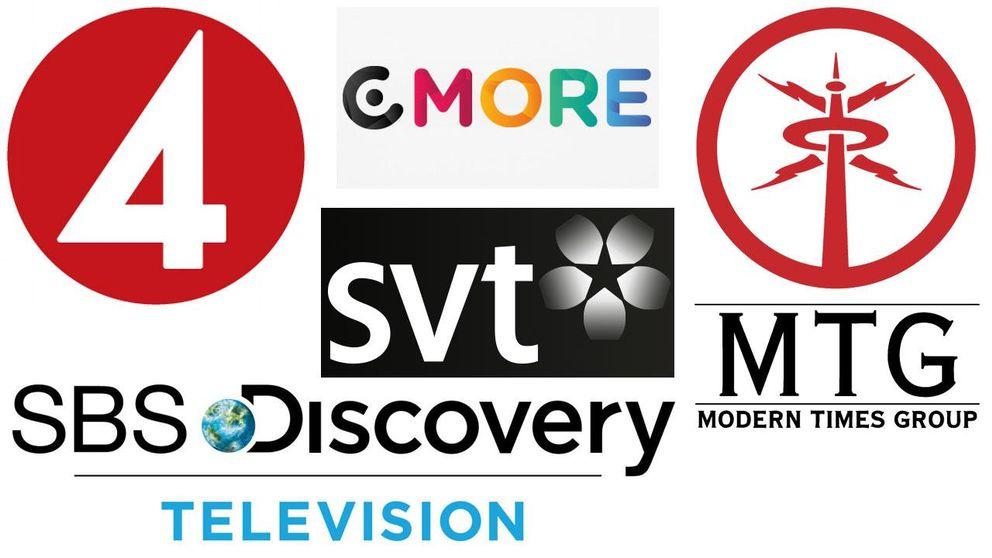 SVT,TV4-Gruppen, MTG TV, SBS Discovery och C More ingår i Film- och TV-branschens Samarbetskommitté.