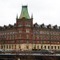 Norstedts förlag på Riddarholmen i Stockholm.
