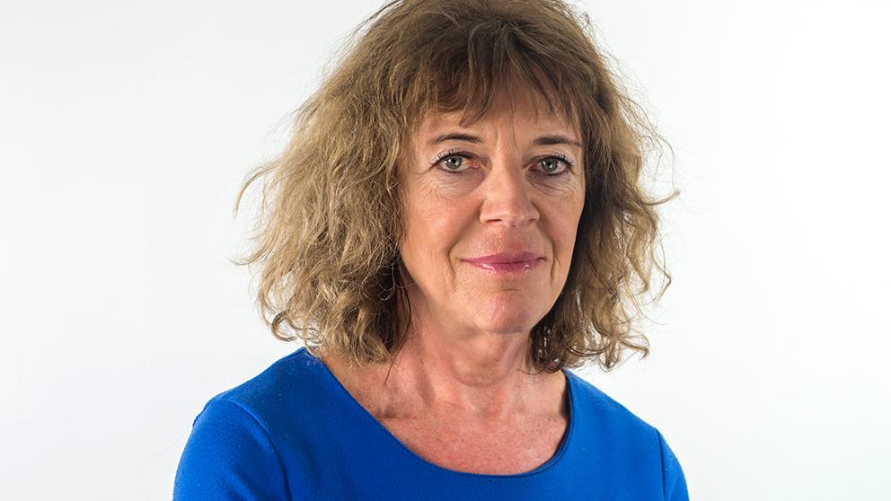 SVT:s inrikespolitiska kommentator Margit Silberstein.