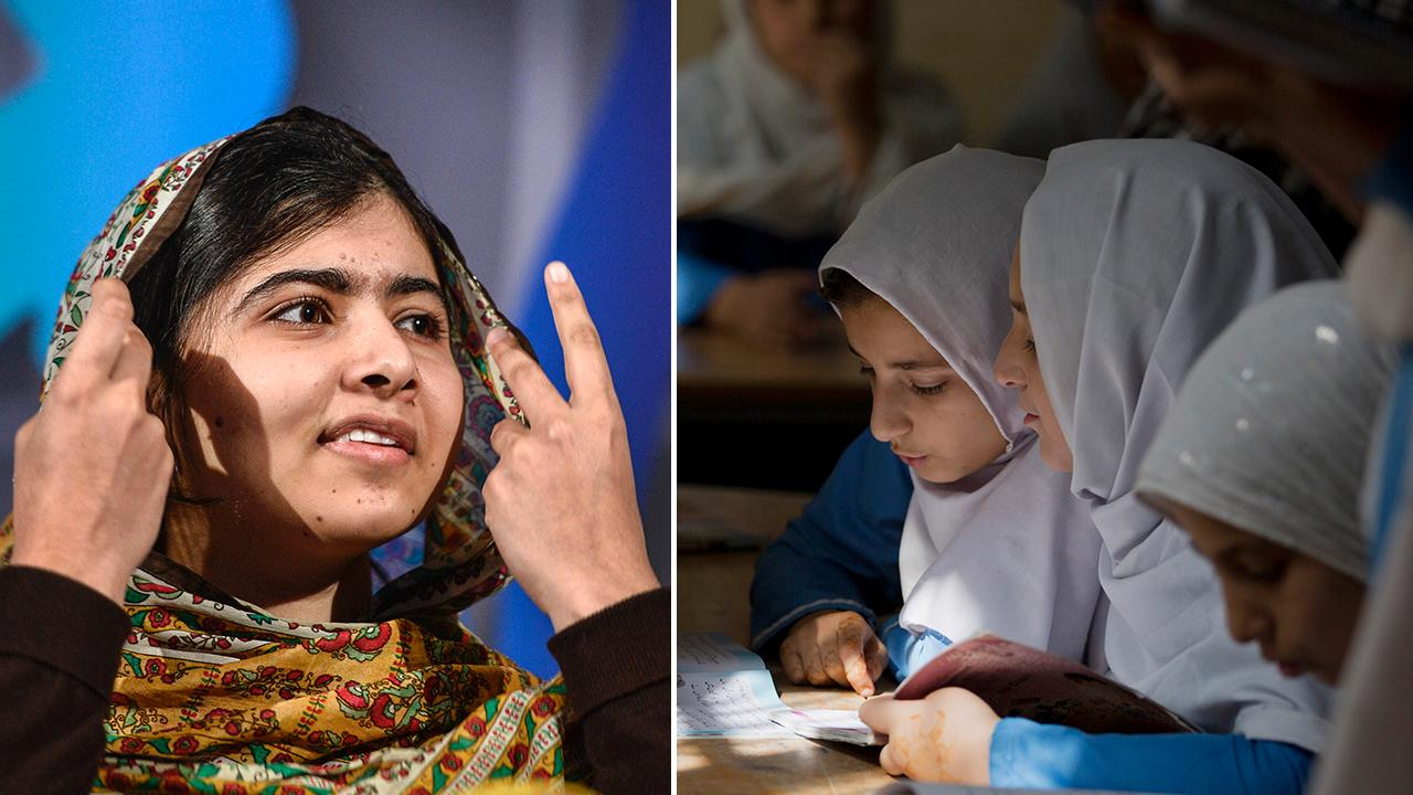 Skolflickan malala en av favoriterna