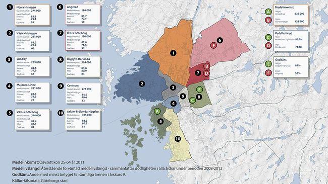 göteborg stadsdelar karta Så ser det ut där du bor | SVT Nyheter göteborg stadsdelar karta
