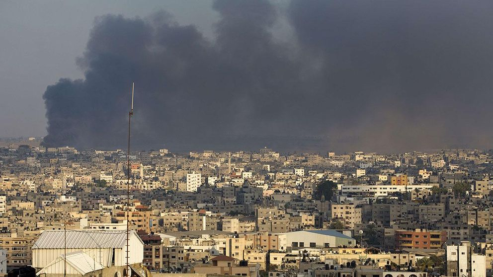 Israels attack mot Gaza under sommaren 2014. (Arkiv).