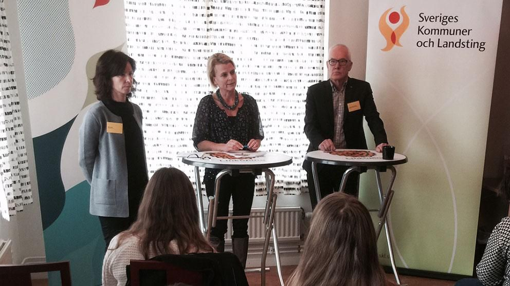 konferens tiggare tiggeri Linköping minister Åsa Regnér (S)