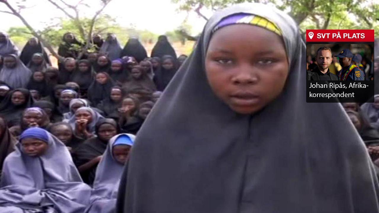 Befriade chibok flickor berattar